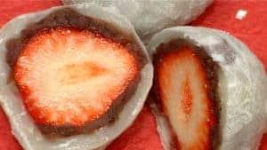 Strawberry Daifuku Recipe (Ichigo Daifuku Mochi with Red Bean Paste)