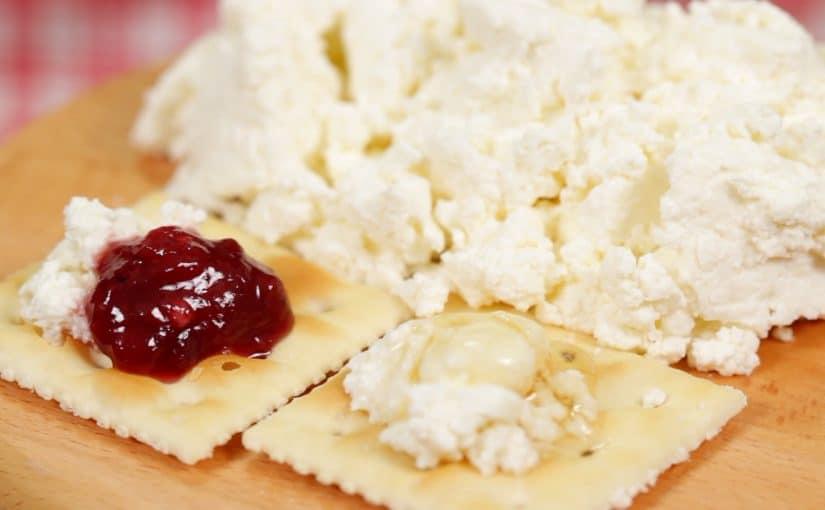フレッシュチーズの作り方 牛乳と生クリームとヨーグルトですぐできるレシピ