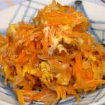 Ninjin Shirishiri Recipe (Carrot and Egg Stir-Fry in Okinawa Prefecture)