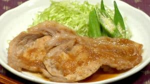 Pork Shogayaki Recipe (Japanese Pork Stir-Fry with Grated Ginger Sauce)