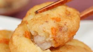 Satsuma-age Recipe (Deep-Fried Ground Pollock and Vegetable Mix)