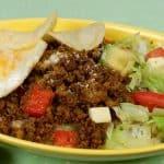 Taco Rice Recipe (Okinawan Taco Fillings Served on Rice)