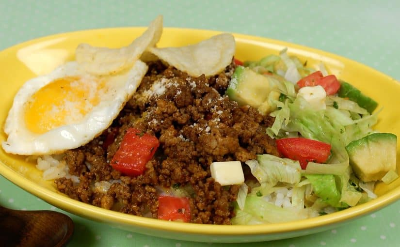 Taco Rice Recipe (Okinawan Taco Fillings Served on Rice)