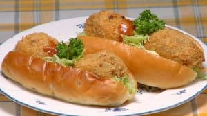 Korokke Pan Recipe (Japanese Potato and Meat Croquette)
