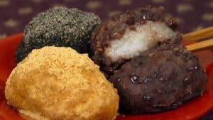 Ohagi Recipe (Japanese Autumn Dessert Pounded Rice Wrapped with Sweet Bean Paste | Botamochi)
