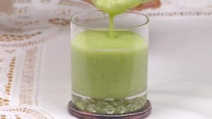 Green Smoothie Recipe (Grapefruit Health Shake with Cabbage and Broccoli)