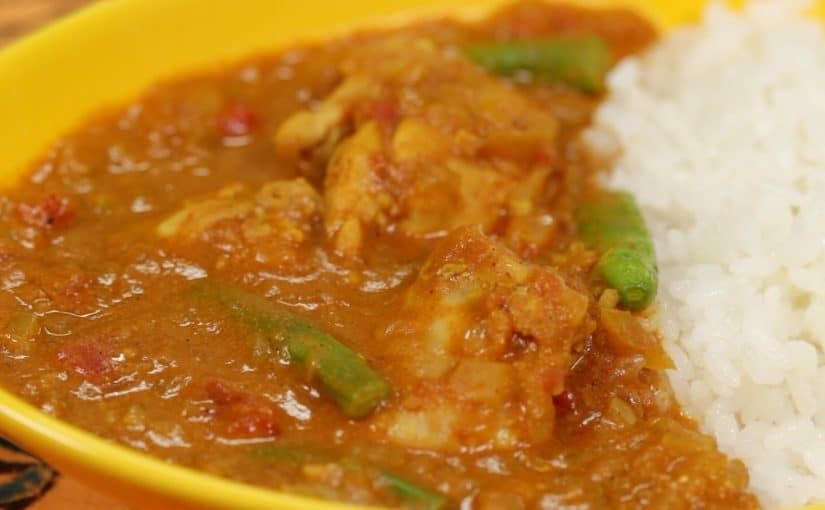 Yogurt Chicken Curry Recipe (Tomato Chicken Curry with Refreshing Summer Taste)