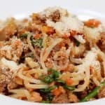 Meat Sauce Shirataki Pasta Recipe (Low-Carb Miracle Noodles with Tomato Meat Sauce)