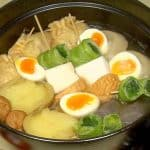 Oden Recipe (Japanese Winter Hot Pot with Vegetables and Fish Surimi Products) | Takarabukuro (Treasure Bags)
