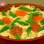 Chirashi Sushi Recipe (Hinamatsuri Chirashizushi | Mixed Sushi Rice with Beautiful Toppings)