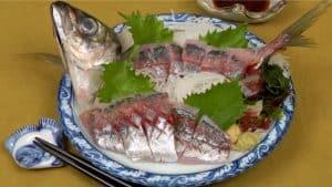 Aji Sashimi Recipe (How to Clean and Fillet Japanese Horse Mackerel)