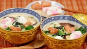 Odamaki-mushi Recipe (Chawanmushi with Udon Noodles | Savory Egg Custard with Plenty of Fillings)