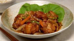 Chicken Nanbanzuke Recipe (Deep Fried Chicken Marinated in Sweet Vinegar Sauce)
