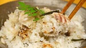 Tai-meshi Recipe (Seasoned Rice Cooked with Red Sea Bream)