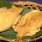 Taiyaki and White Bean Paste Recipe (Fish Shaped Cake Filled with Sweet Bean Paste)