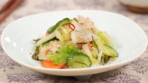 ミックス野菜の浅漬けの作り方 昆布と鰹の旨味に胡麻の香りたっぷりのレシピ
